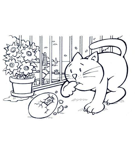 il disegno testo la gabbianella e il gatto disegni da colorare unione