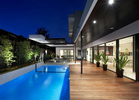 lamb residence contemporary pool other metro by caulfield north residence contemporary pool other