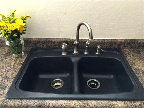 How To Clean White Granite Sink by 5 Simple Steps To Clean A Granite Sink House Tipster