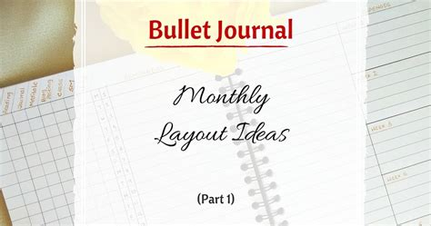 bullet journal tips and tricks my indian version bullet journal monthly layout ideas part 1