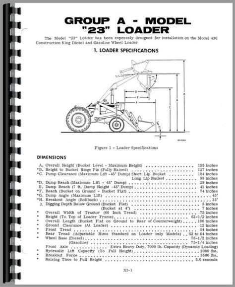 Case 310 Tractor Loader Backhoe Service Manual