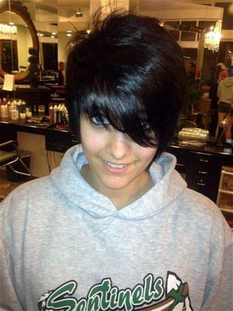 paris jackson with black hair paris jackson images paris jackson s new hair black hair