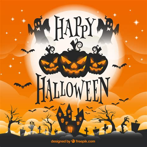 imagenes happy halloween 10 free halloween vectors freepik blog
