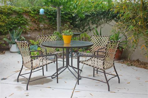 Vintage Patio Chairs Vintage Outdoor Furniture Style All Home Decorations