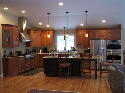 kitchens by design cherry cabinetry traditional kitchen other metro
