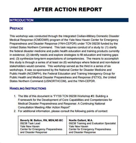 sle after action report 9 documents in pdf