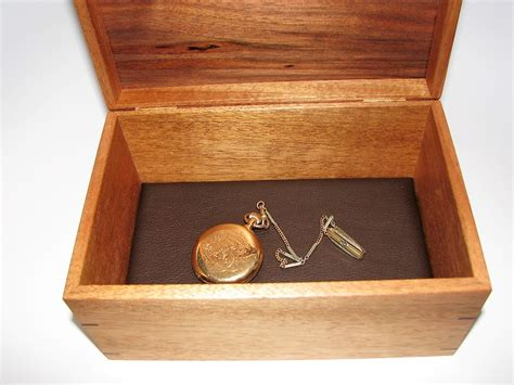 Handcrafted Keepsake Boxes - keepsake box mahogany and walnut keepsake box 9