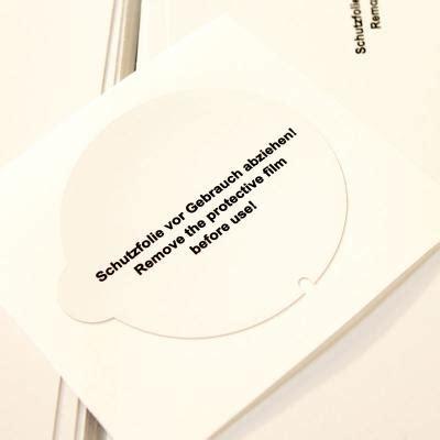 Aufkleber Tafelfolie Rund by Rechteckige Oder Runde Abl 246 Sbare Wei 223 E Selbstklebende