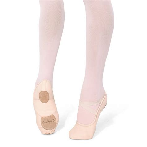 capezio slippers capezio child s hanami stretch canvas ballet slippers