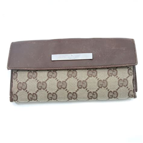 gucci classic monogram wallet ggw130 bags of