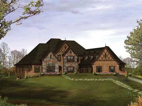 4 Bedroom 4 Bath Tudor House Plan Alp 09k1 Allplans Com Single Story Tudor House Plans