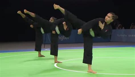 Grosiran Sabuk Silat Taekwondo Karate regu jurus wajib in chionship pencak silat martial arts silat