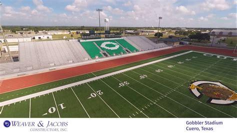 cuero stadium gobbler stadium cuero texas youtube