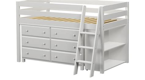 twin bed with 6 drawers white castello white twin jr loft bed with 6 drawer dresser