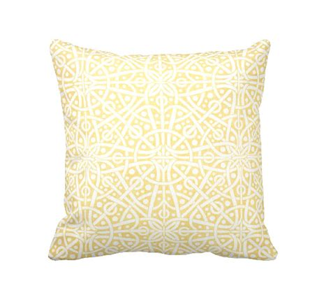 7 sizes available decorative pillow cover throw pillow yellow