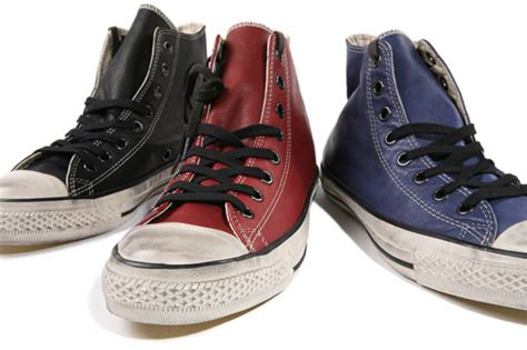 Converse Allstar Black Premium Series High Casual Cets Terbaik converse by varvatos leather chuck hi hypebeast