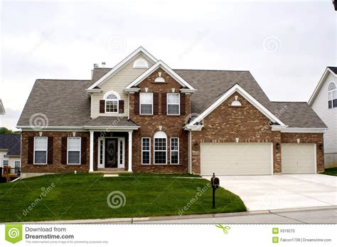 midwest house plans midwest house stock photo image 5319270