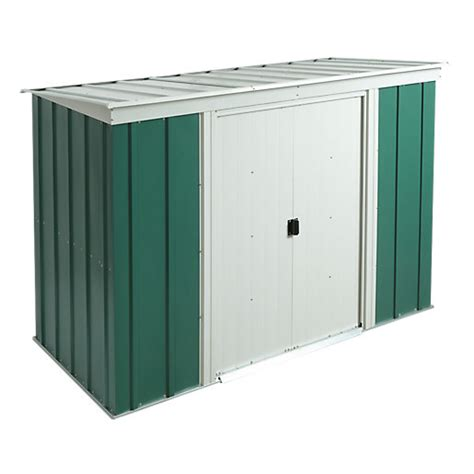 8x4 Metal Shed by Rowlinson Metal Pent Shed Without Floor 8x4 Wickes Co Uk