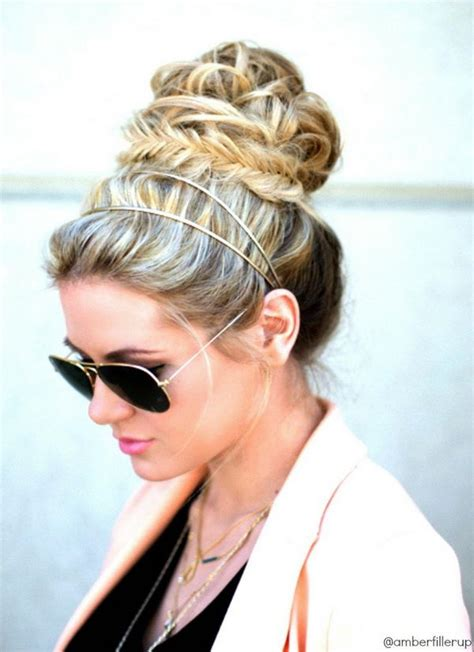 Hairstyles With Headbands by 25 Cool Hairstyles With Headbands For Hative