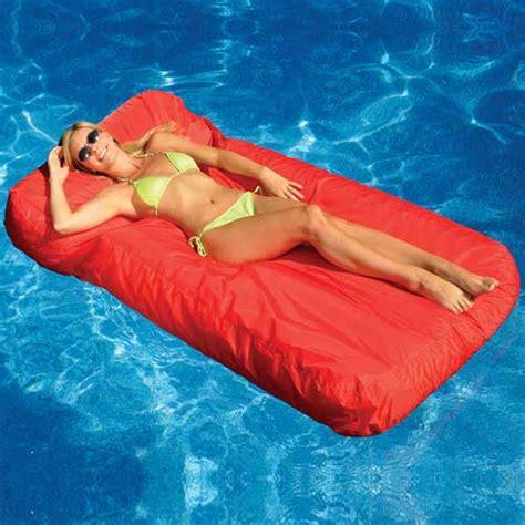 mattress in a pool sunsoft pool mattress