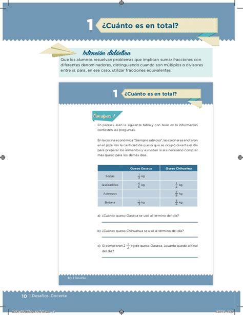 como resolver pagina 11 libro matematicas sexto primaria desafios matematicos contestado de 5 grado desaf 237 os