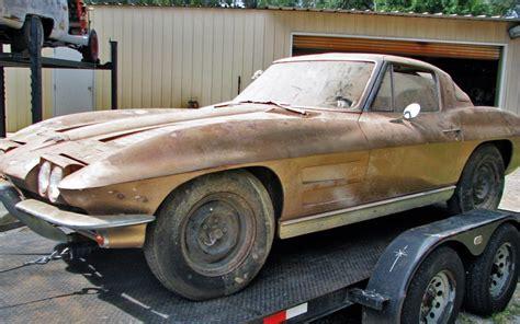 corvette coup split window gamble 1963 corvette coupe