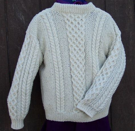 how to knit a sweater aran knitting for beginners