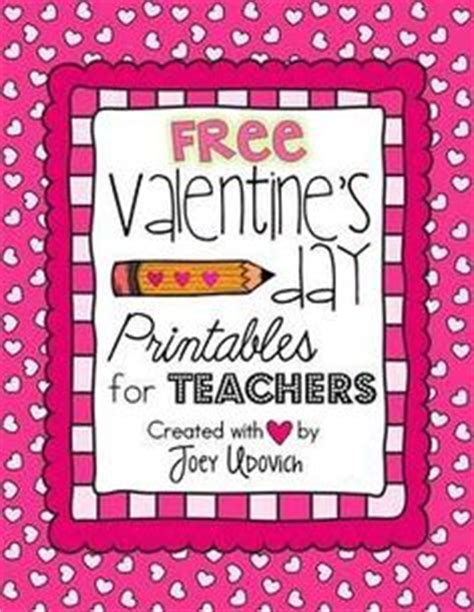 valentines day for teachers s day on printable