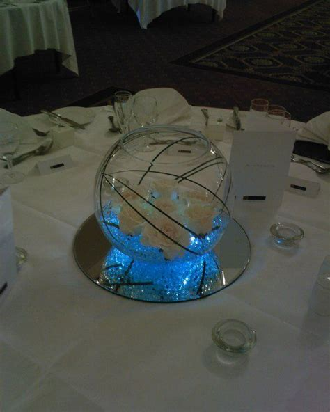 Fish Bowl Vase Ideas by 181 Best Images About Wedding Fish Bowl Centerpieces On