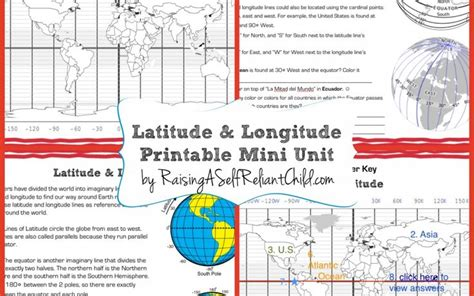 printable latitude longitude ruler 103 best images about homeschool geography on pinterest