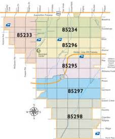 gilbert arizona zip code map gilbert homes for sale listings data by zip code the