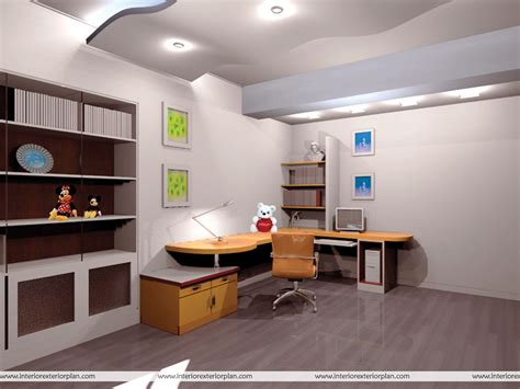 interior exterior plan place to work study room