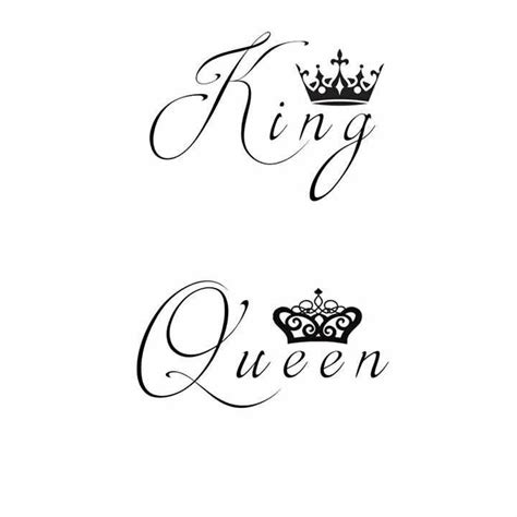 king and queen tattoo designs best 25 king ideas on