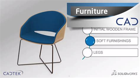 solidworks tutorial chair designing a chair in solidworks free tutorial youtube