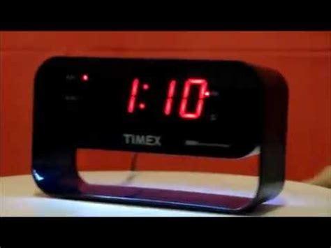 timex  dual alarm clock  usb charging  led night light youtube