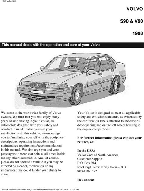 service manual free repair manual 1998 volvo v90 service manual pdf 1997 volvo v90 workshop