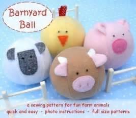 Chicken Christmas Ornament - barnyard ball pdf sewing pattern free shipping