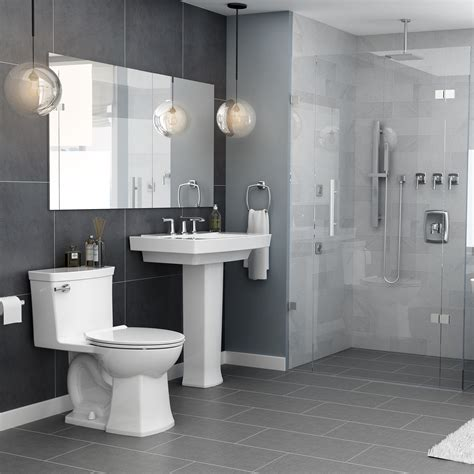 townsend vormax elongated  piece toilet american standard