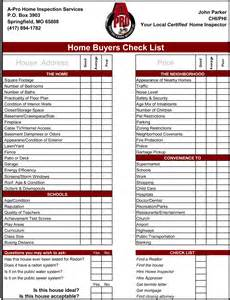 pre purchase building inspection report template home buyers checklist a pro home inspections