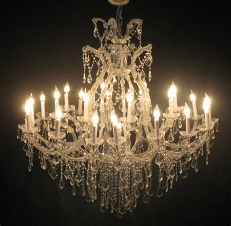Huge Chandeliers Maria Theresa Large Chandelier Town Amp Country Event Rentals