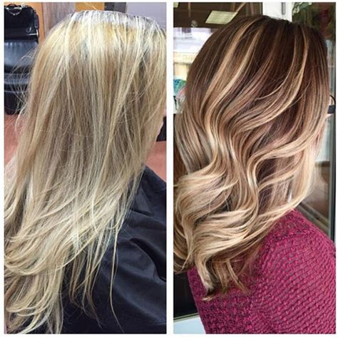 fall blonde on pinterest fall balayage fall blonde hair from a summer blonde to a fall blonde what a beautiful