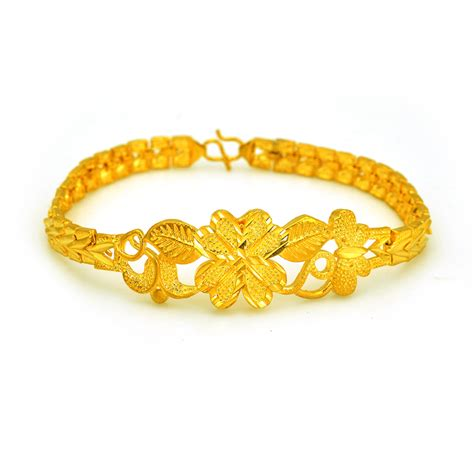 24 Karat Gold by 2015 Sale 100 24 Karat Gold Plating Bracelets