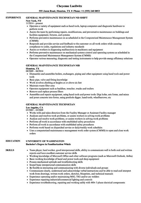 Elevator Mechanic Sle Resume by Elevator Mechanic Resume Resume Builder