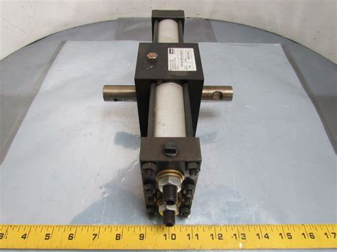 Rotary Actuator Pneumatic Rans8 180 4 180 Derajat Koganei pneumatic rotary actuator 1 1 2 quot bore 180 degree dual shaft rack pinion ebay