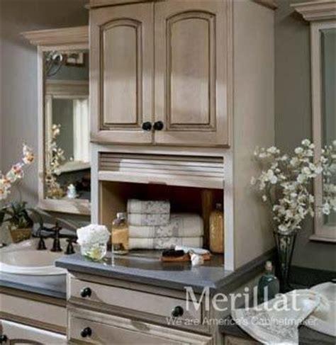 merillat bathroom vanity cabinets wall vanity tambour storage masterpiece 174 accessories