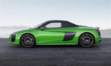 R8 Audi Horsepower by Audi Adds 610 Horsepower R8 Spyder V10 Plus To Range
