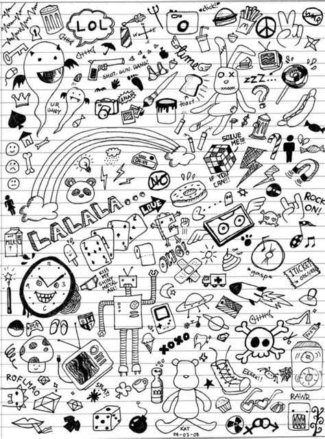doodle with all this is that a class doodle by katmcgeer