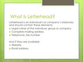 What Should Business Letterhead Look Like what is letterhead letterhead is an individual s or company