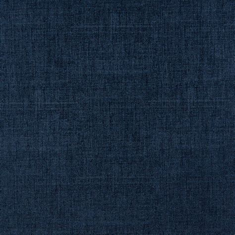 Blue Linen Upholstery Fabric by Blue Linen Denim Look Faux Leather Polyurethane By