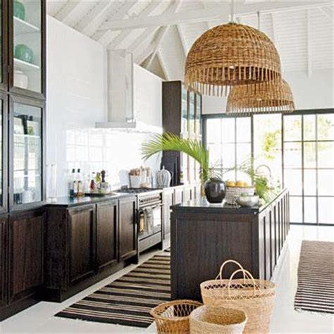 Coastal Kitchen Design Whitehaven Decorating With Baskets
